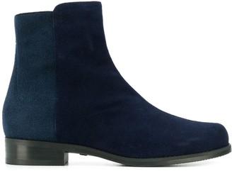 Stuart Weitzman Colour Block Ankle Boots