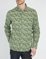 Penfield Dunmore Camo Leaves Printed Shirt