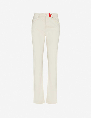 Benetton Straight-fit cotton trousers