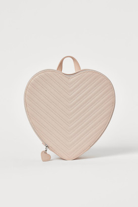 H&M Heart-shaped Backpack - Orange