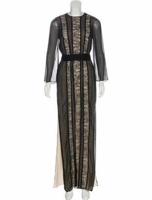 Alice + Olivia Kye Lace Dress w/ Tags Black