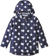 Joe Fresh Toddler Girls' Zip Up Rain Jacket, Navy (Size 3)