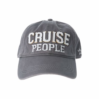 Pavilion Gift Company Cruise People-Gray Adjustable Snapback Baseball Hat