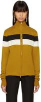 Wales Bonner Yellow Emory Zip Sweater
