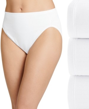 Jockey Women's 3-Pk. Smooth Effects French-Cut Pointelle Brief 1740