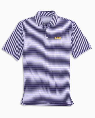 Southern Tide LSU Tigers Striped Polo Shirt