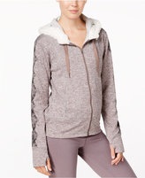 Gaiam Aurora Faux-Sherpa-Lined Fleece Hoodie