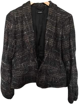 Max & Co. Anthracite Wool Jacket for Women