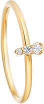 Astley Clarke Interstellar 14ct yellow-gold grey diamond ring