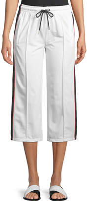 P.E Nation Invincible Cropped Wide-Leg Pants