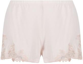 La Perla Lace-Trim Pyjama Shorts