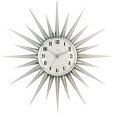 Acctim 21767 Stella Starburst Wall Clock, Silver