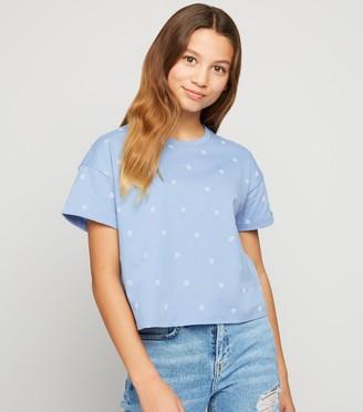 New Look Girls Daisy Print T-Shirt