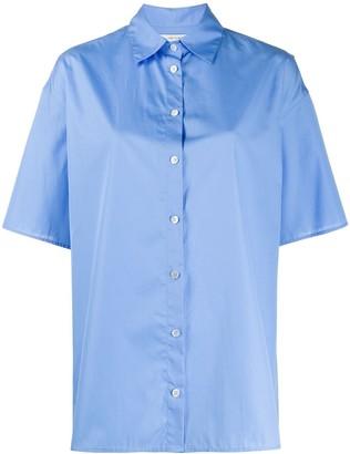 The Row Plain Short-Sleeved Shirt