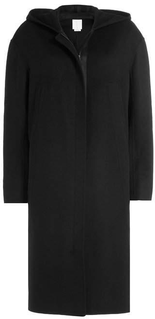 DKNY Hooded Coat