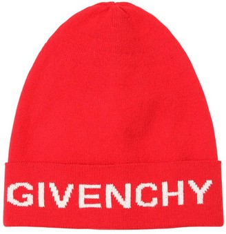 Givenchy Logo Cotton Blend Hat