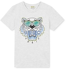Kenzo Boys' Tiger Graphic Tee - Little Kid
