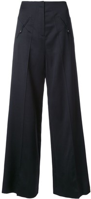 Esteban Cortazar Low Waist Straight Trousers