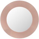 Kartell All Saints Round Mirror - Nude Pink