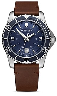 Victorinox Maverick Blue Dial Watch, 43mm