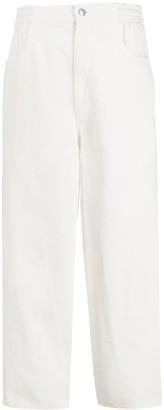 MM6 MAISON MARGIELA Straight-Leg Mid-Rise Jeans