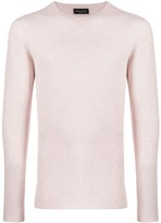 Roberto Collina long sleeve fitted jumper
