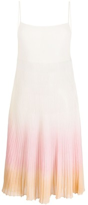 Jacquemus La Robe Helado Gradient Dress