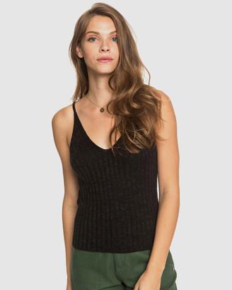 Roxy Womens Moon Bird Knitted Singlet Top