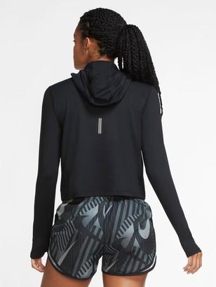 Nike Running Long SleeveElement Zip Top - Black