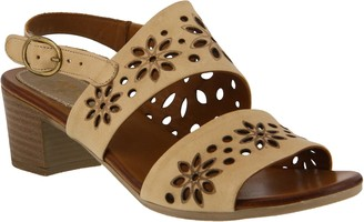 Spring Step Leather Slingback Sandals - Mandalay