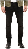 7 For All Mankind Paxtyn w/ Clean Pocket in Indie Black
