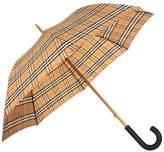 Burberry Vintage Check Walking Umbrella