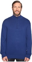 Nautica Big & Tall 1/4 Zip Sweater