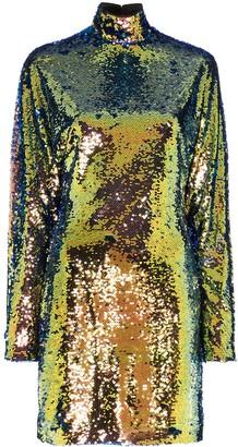 RtA Ansel sequin mini dress