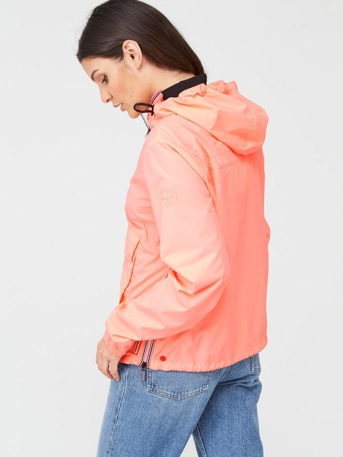 Hunter Women's Original Shell Cagoule - Light Pink