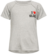 Full Tilt I Love Sleep Braid Trim Girls Tee