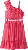 Amy Byer Girls 7-16 One Shoulder Ruffle Dress
