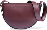 Victoria Beckham Baby Half Moon Leather Shoulder Bag - Grape