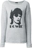 R 13 Bowie print sweatshirt