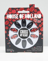 Elegant Touch House Of Holland By Party Nails - Cross My Heart