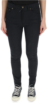 Saint Laurent Skinny High Waist Jeans