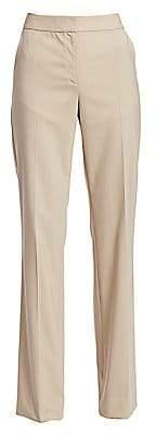 St. John Women's New Stretch Tropical Wool Pants