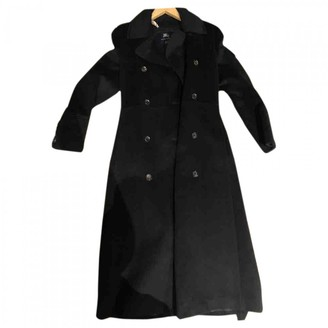 Burberry Black Cashmere Coat for Women