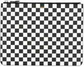 Givenchy checkered zip pouch - men - Calf Leather - One Size