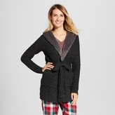 Gilligan & O'Malley Women's Sweater Wrap with Sherpa Collar