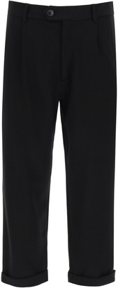 The Silted Company Dave Milan Carrot Fit Trousers