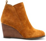 Sole Society Brigitte Stacked Wedge Bootie