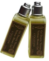 L'Occitane Verbena Shower Gel 2.5fl.oz. 75ml Set Of 2.