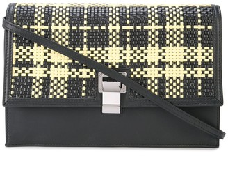Proenza Schouler Lunch Bag-Plaid Woven