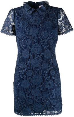 RED Valentino Lace Overlay Dress